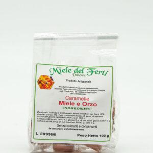 Oleificio Volterra - Caramelle Miele e Orzo 100Gr
