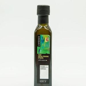 Olio Extra vergine di oliva - Bottiglia 0,25Lt