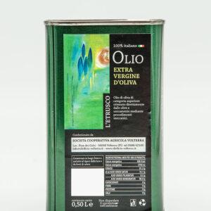 Olio Extra vergine di oliva - Latta 0.50Lt