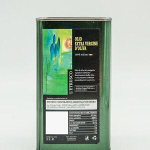 Olio Extra vergine di oliva - Latta 1Lt